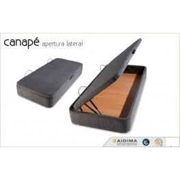 Canap abatible apertura lateral dreamszone tu tienda for Canape abatible 75