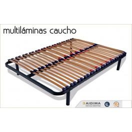 Somier Multiláminas Caucho