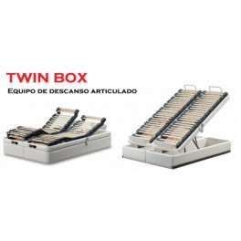 Canapé Twin Box de Bedline
